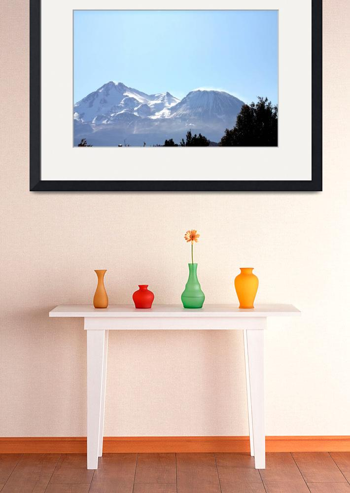 """Mount Shasta&quot  (2011) by MNTPhoto"