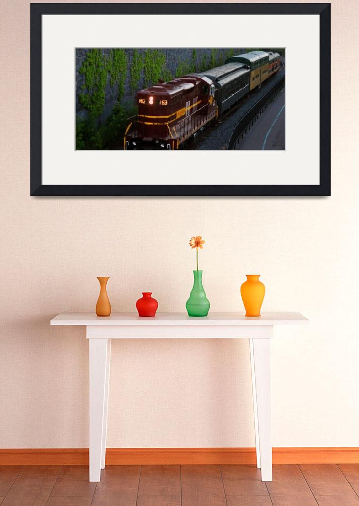 """""""North Shore Scenic Train 2&quot  (2011) by LJdesigns"""