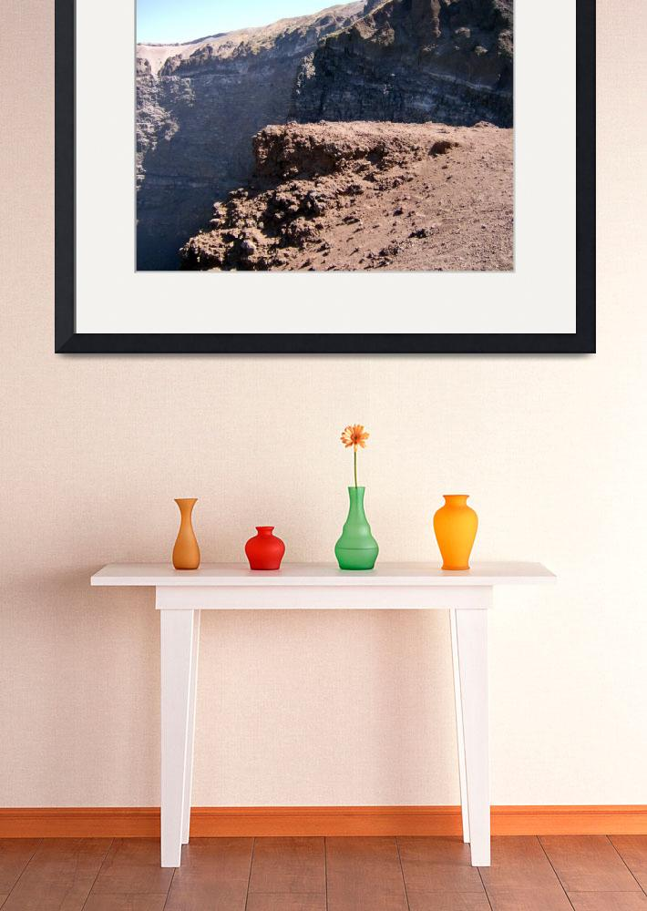 """""""Climbing Mount Vesuvius, Southern Italy""""  (2007) by ExpressDesigns"""