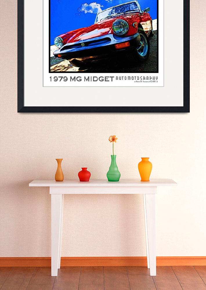 """""""1979 MG Midget&quot  (2013) by Automotography"""