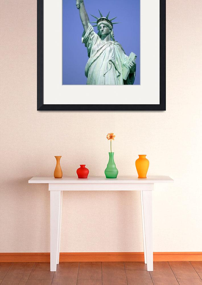 """Statue Of Liberty, New York City, New York, USA&quot  by DesignPics"
