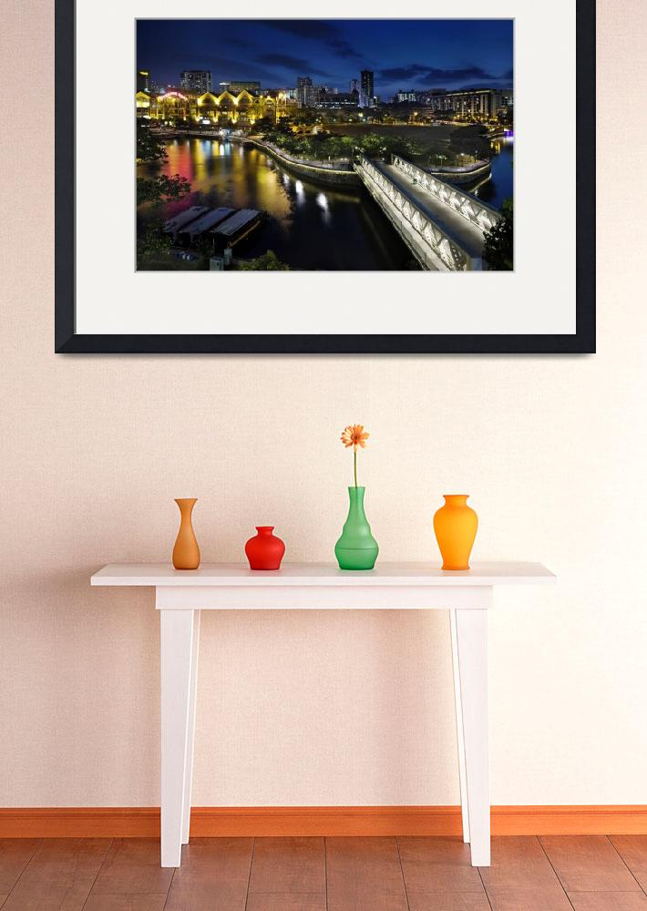 """""""Riverside Point at Clarke Quay Singapore&quot  (2010) by williamcho"""