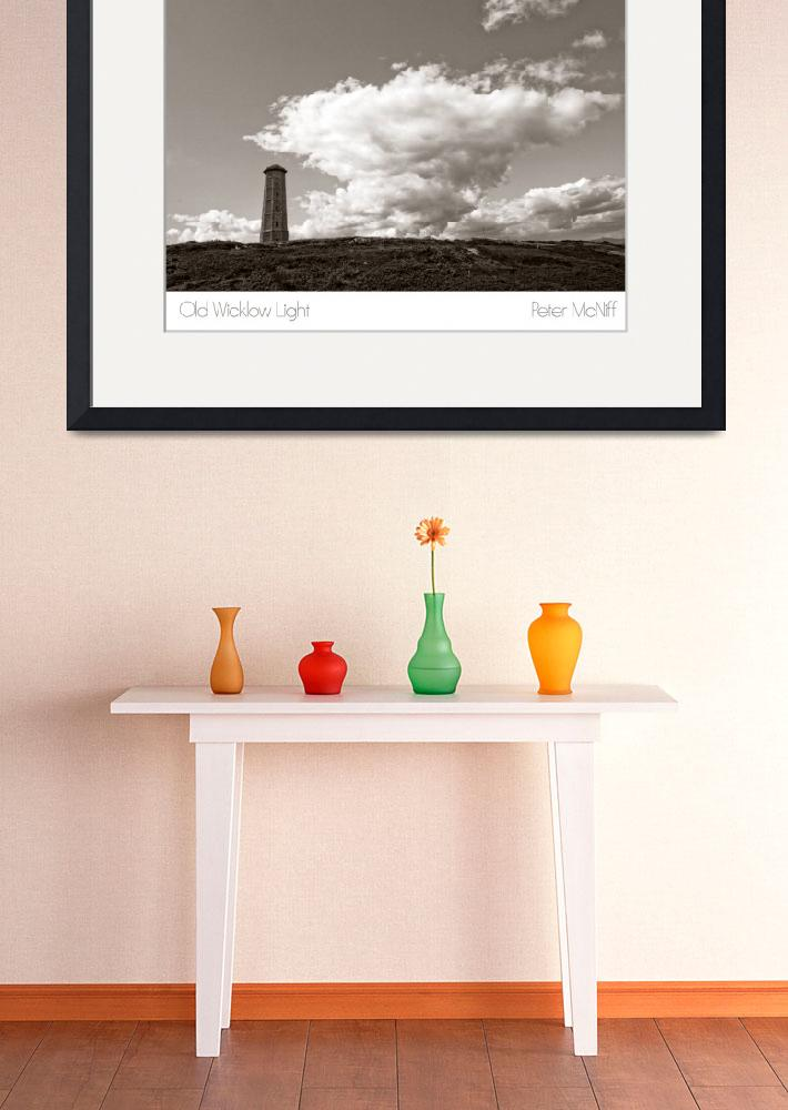 """""""Old Lighthouse, Wicklow&quot  (2008) by mcniff"""