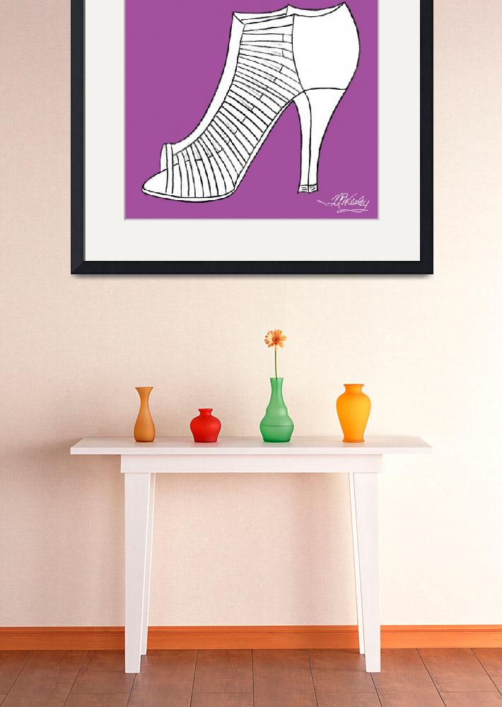 """""""Elegance Shoe&quot  (2010) by misstandesigns"""