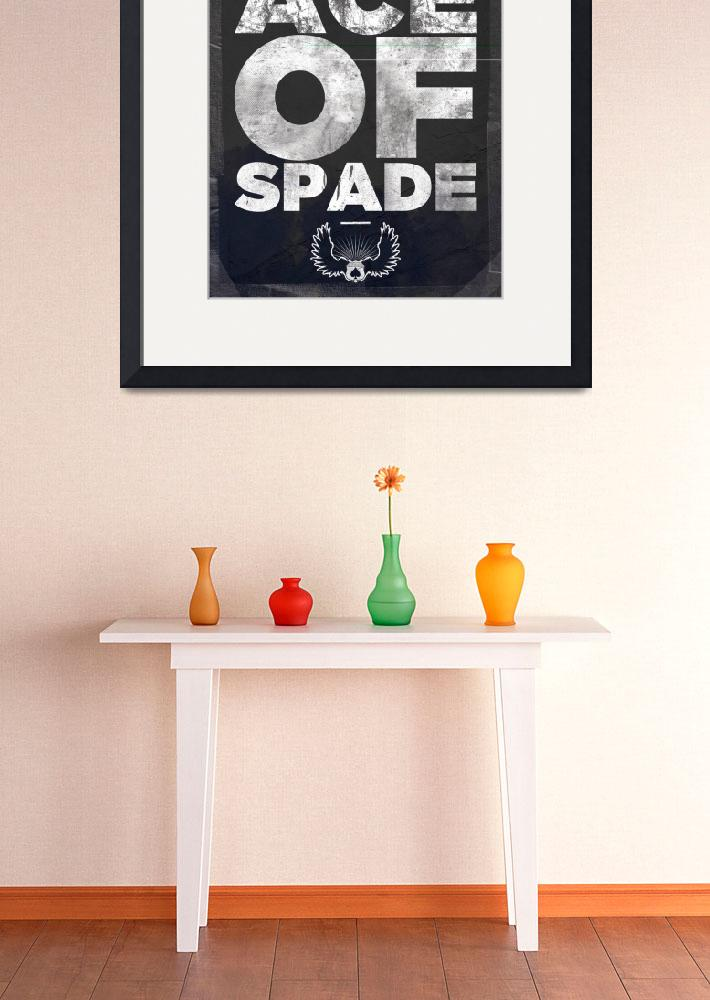 """Studio Ace of Spade - Monthly poster series 04.10&quot  (2010) by simonh4"
