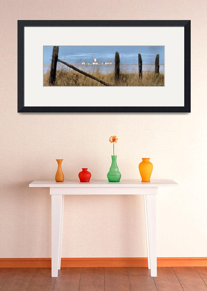 """""""New Dungeness Lighthouse&quot  (2007) by markwhitesell"""