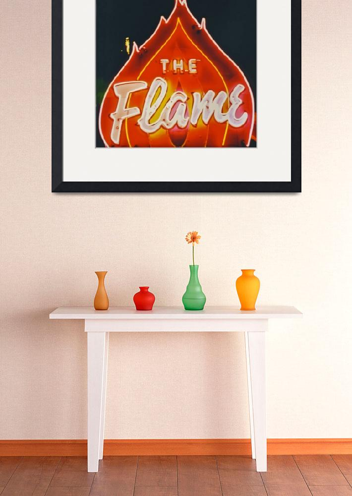 """""""Flame Neon&quot  by midcenturymodern"""