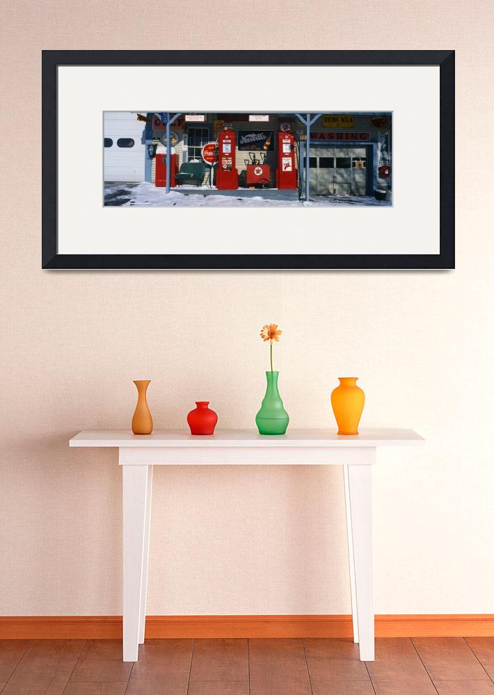 """""""Old Gas Station Barre VT""""  by Panoramic_Images"""
