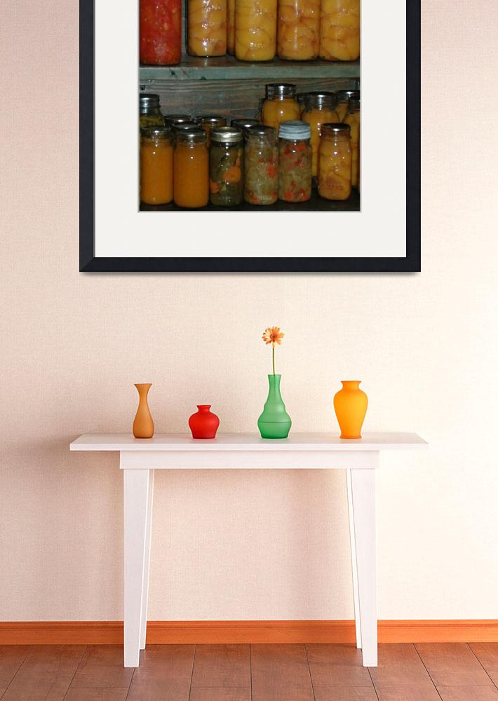 """jars of fruits and vegetables&quot  (2006) by kreinke"