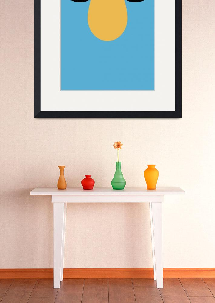 """""""Minimalist Muppets - Zoot&quot  (2010) by ericslager"""