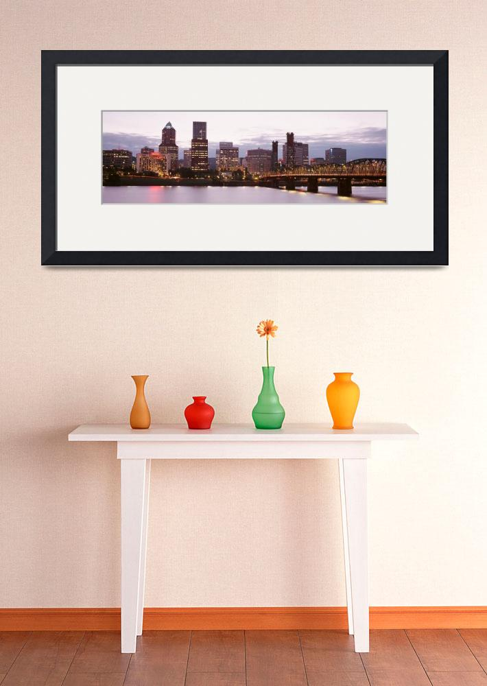 """""""Sunset Portland OR&quot  by Panoramic_Images"""