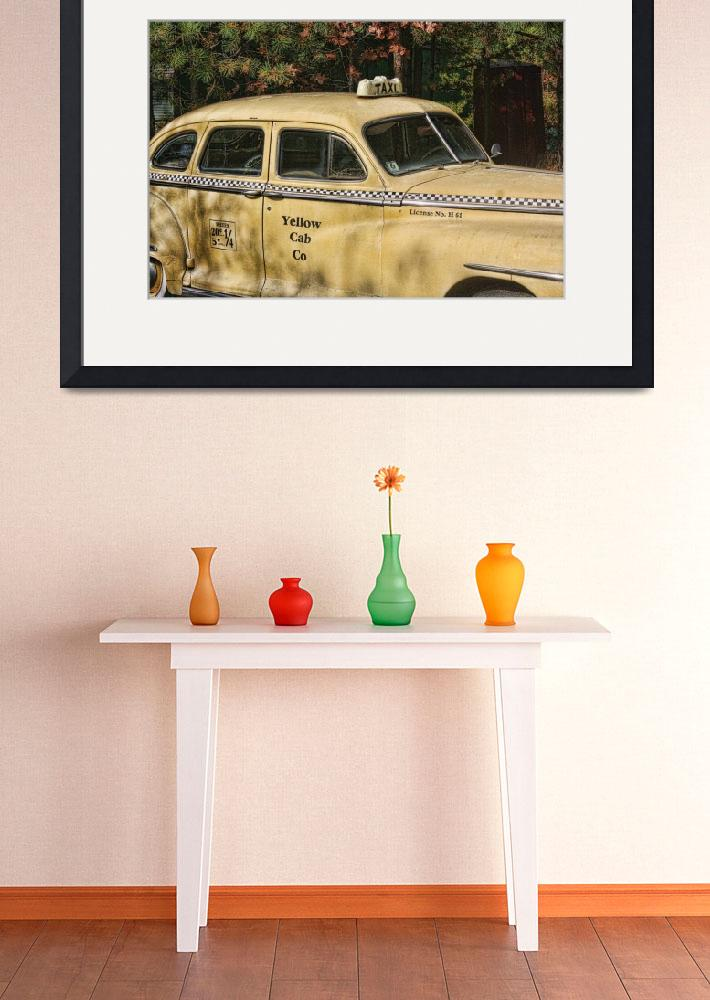 """""""Big Yellow Taxi&quot  by Artkeptsimple"""