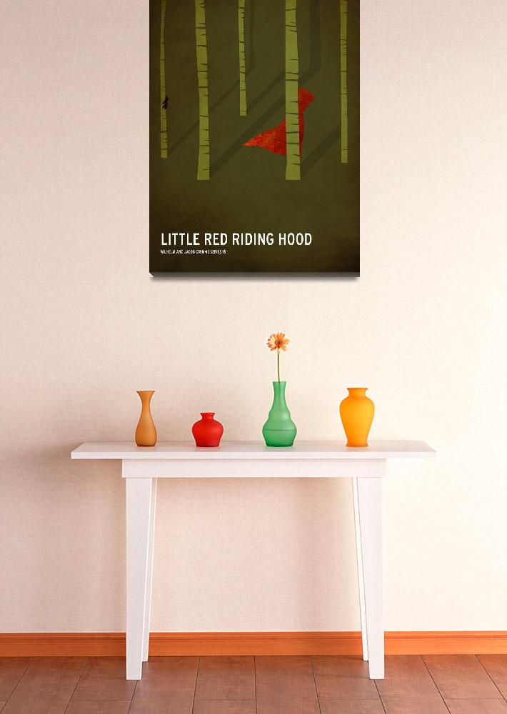 """""""Little Red Riding Hood&quot  (2010) by squareinchdesign"""