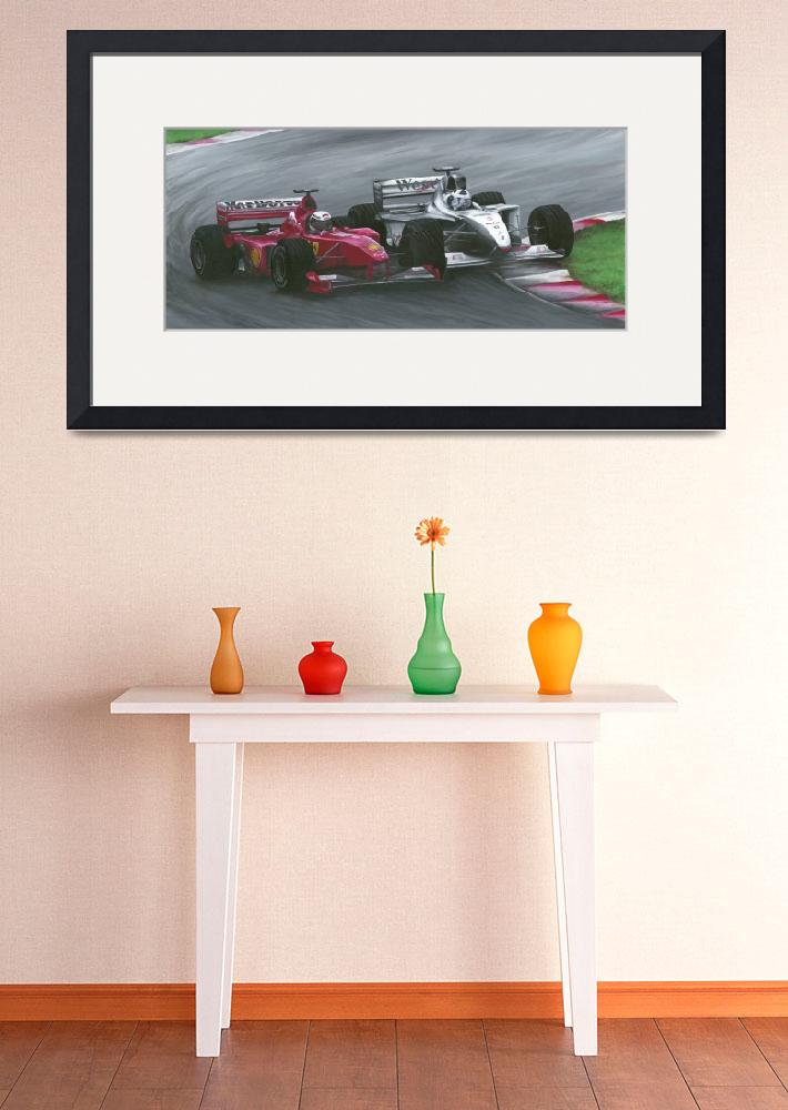 """""""Formula One - """"Tight Quarters""""&quot  by Kart-Race-Art"""