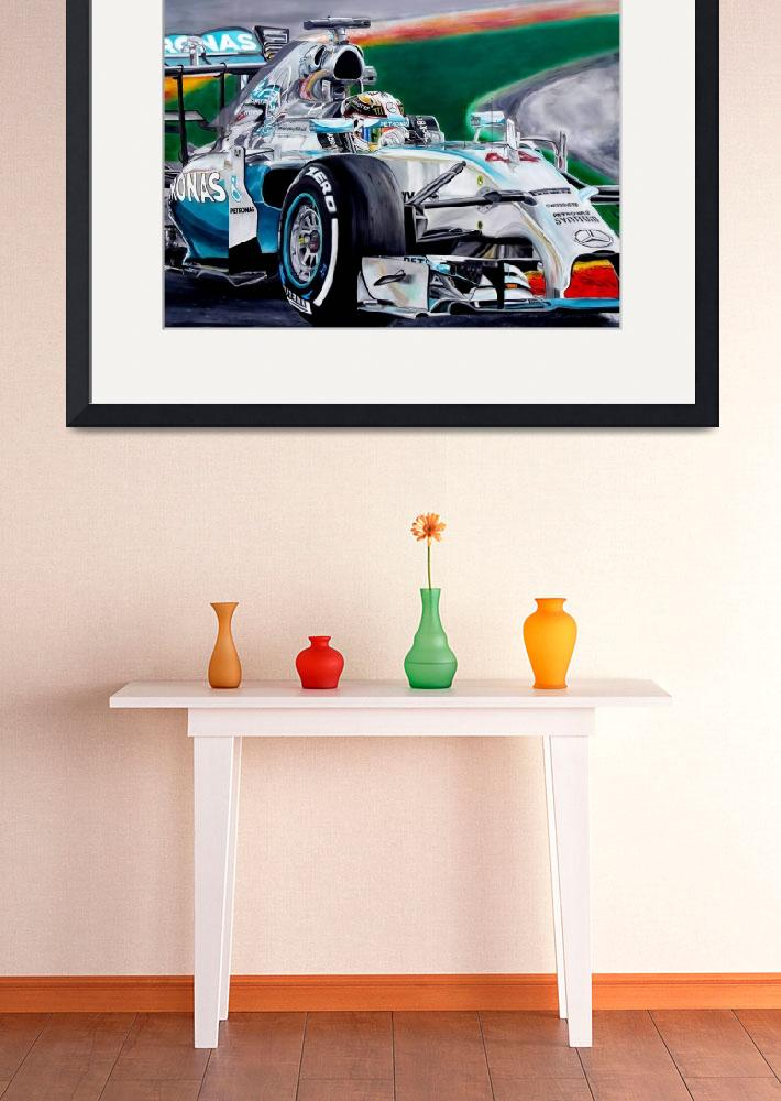 """""""Lewis Hamilton Focus on Lewis&quot  by iconicarts"""