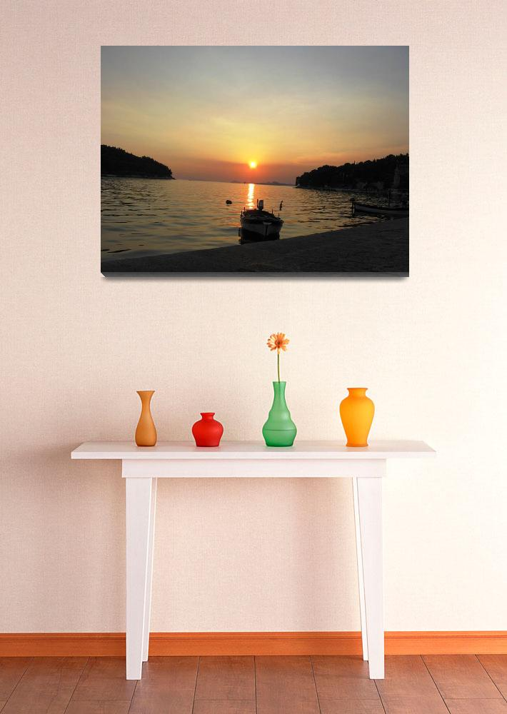 """""""Sunset&quot  (2008) by leyla"""