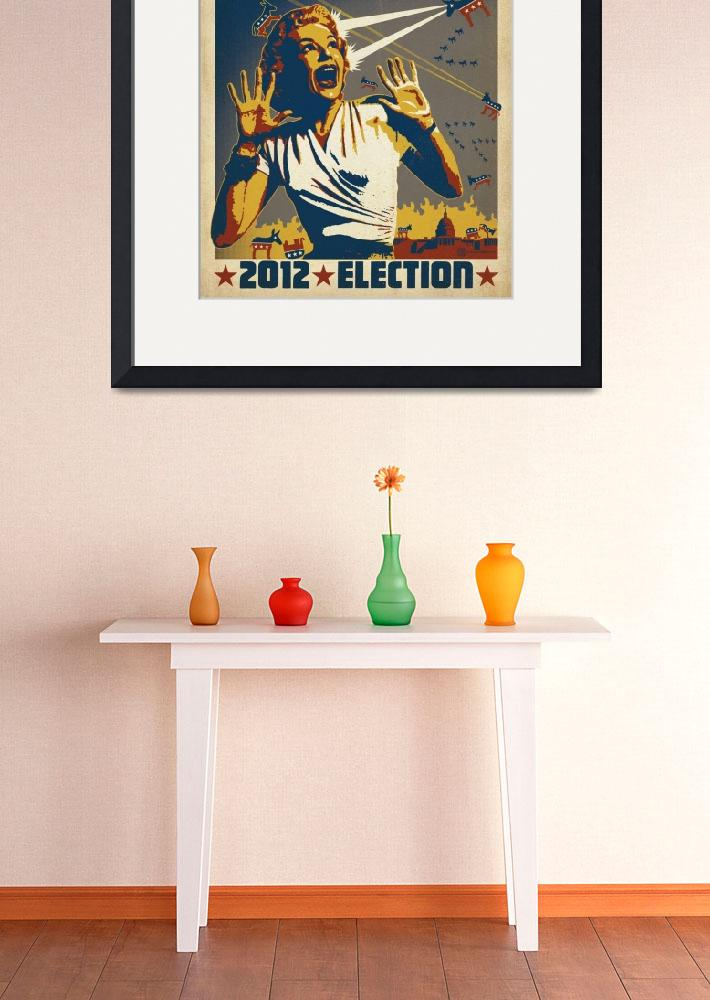 """""""Attack of the Liberals - Retro Political Poster&quot  by artlicensing"""