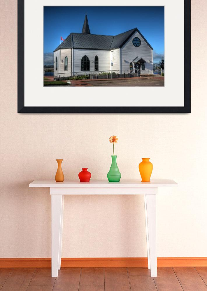 """""""The Norwegian Church Cardiff Bay&quot  by StevePurnell"""