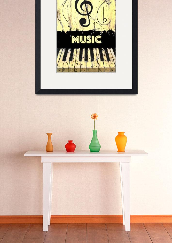 """""""Music 2 Yellow&quot  by waynecantrell"""