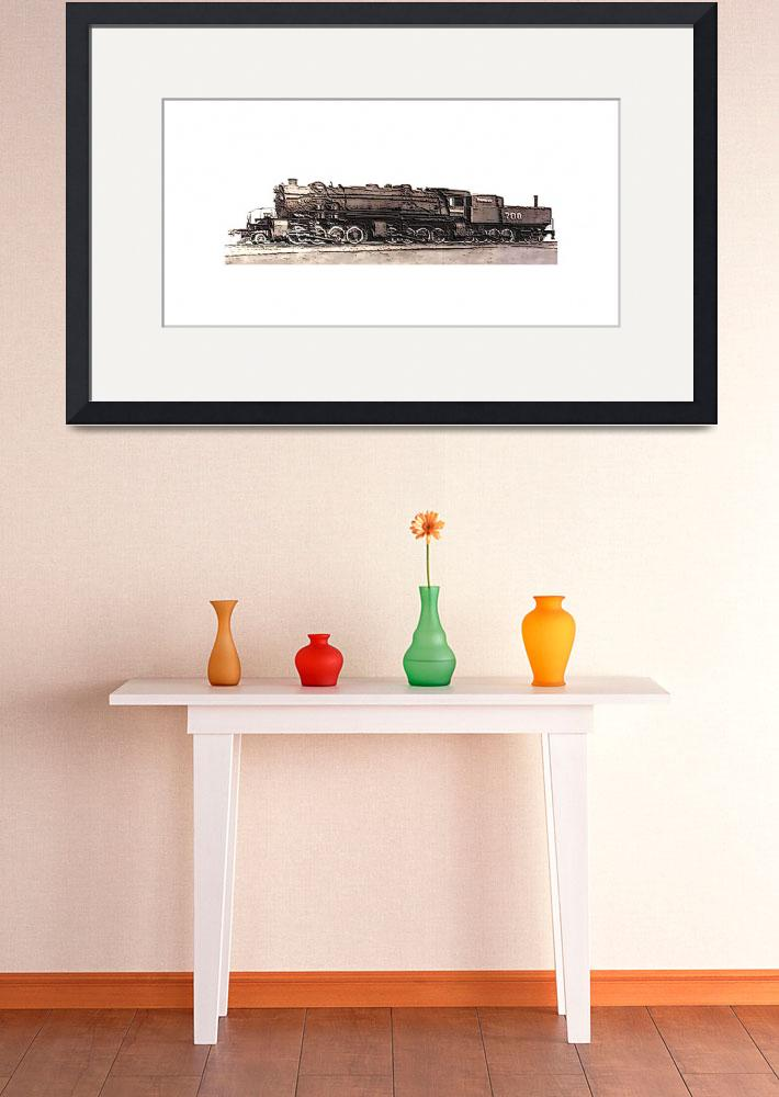"""28884 Steam Locomotive CC 95 34 lg border&quot  (2013) by TheNorthernTerritory"