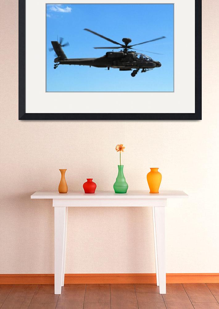 """""""The AH-64 Apache""""  by doncon402"""
