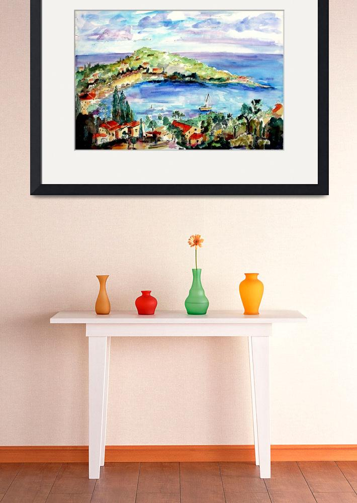 """""""French Riviera Saint Jean Cap Ferrat by Ginette&quot  (2004) by GinetteCallaway"""