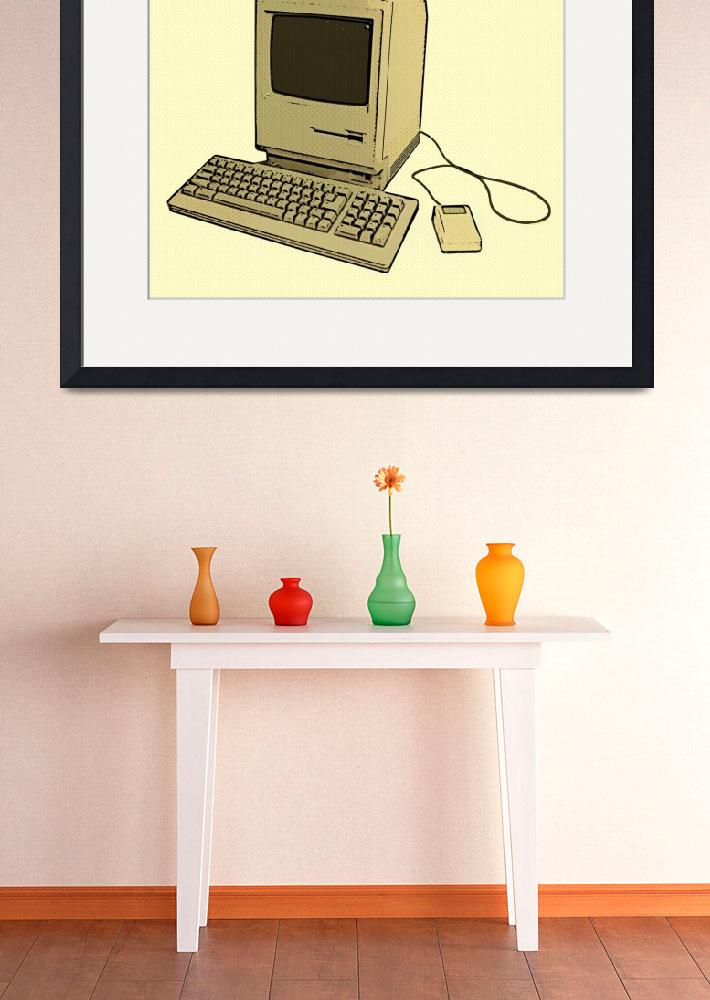 """""""Vintage Mac 2&quot  (2011) by geiger"""