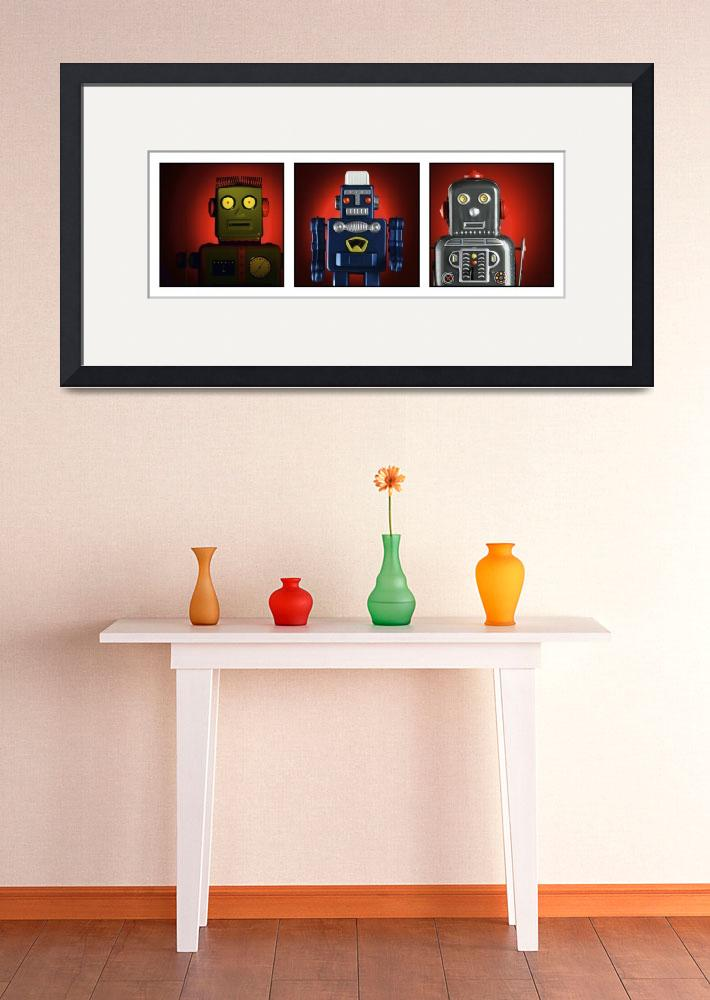 """""""Group Robots""""  (2004) by Colen"""