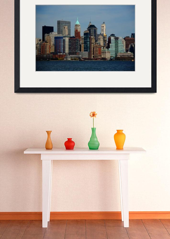 """New York City Skyline 2009&quot  (2009) by Ffooter"