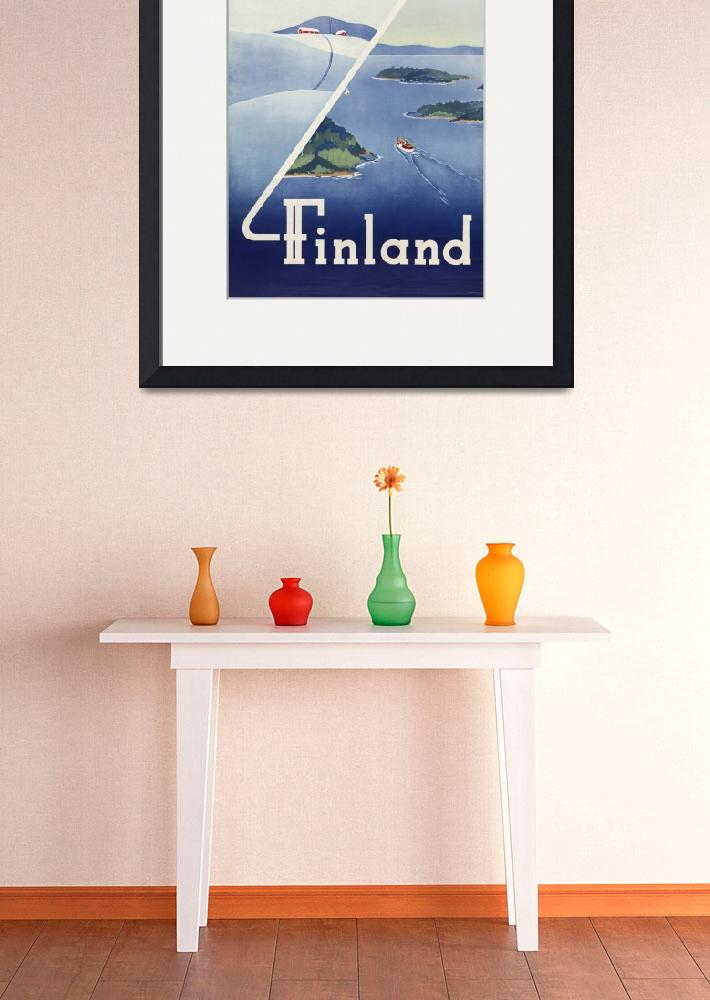 """Travel Finland&quot  (2011) by dalidayna"
