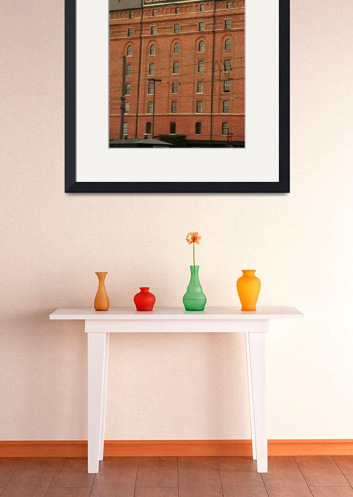 """Baltimore Orioles Park at Camden Yards #2""  (2003) by Ffooter"