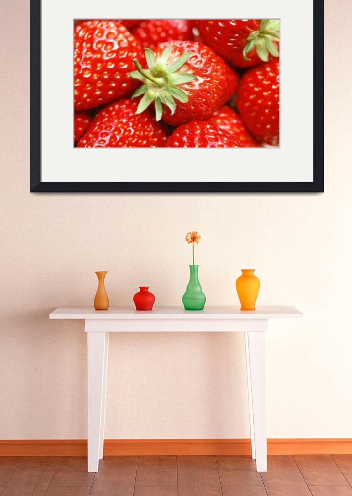 """""""Red Summer Strawberry Love""""  (2015) by AnswersFound"""