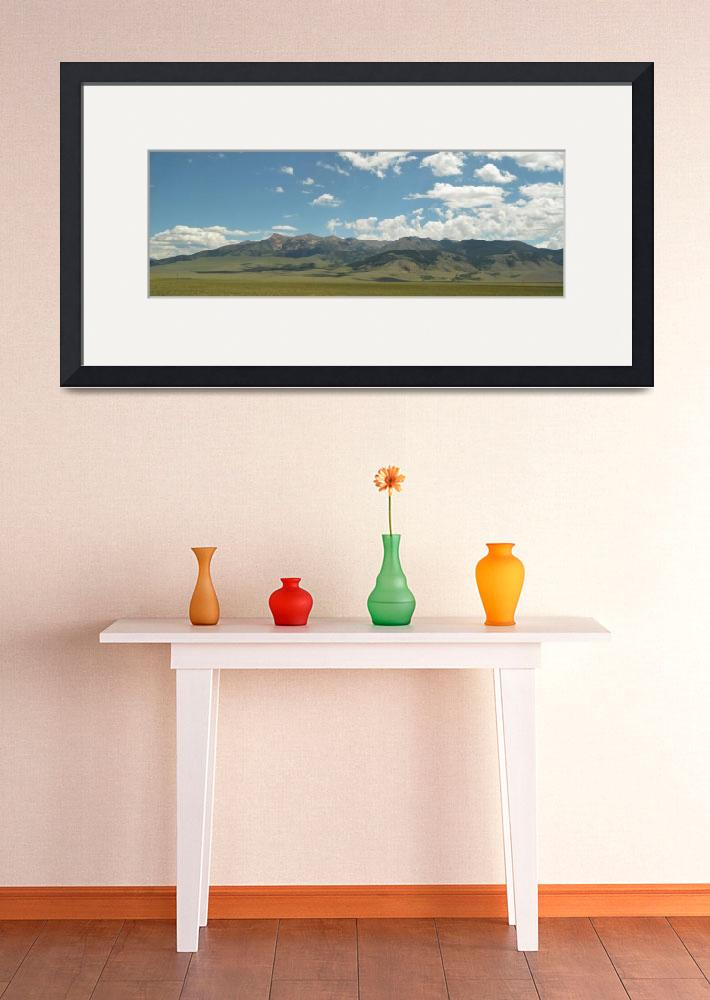"""3 Forks Montana panoramic""  (2016) by truepixbymollygreene"