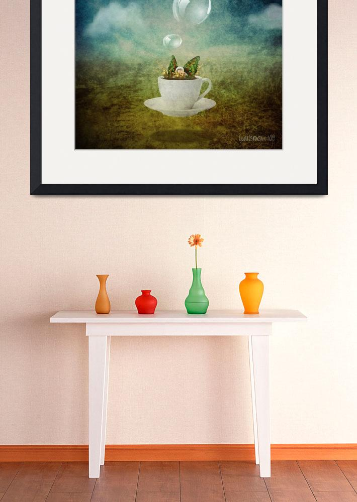 """""""Floating Tea Cup Fairy&quot  (2013) by llo"""