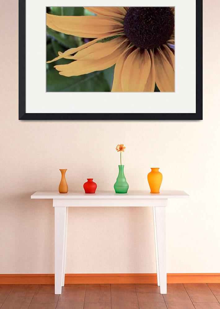 """""""Yellow Sunflower&quot  (2013) by DBell"""