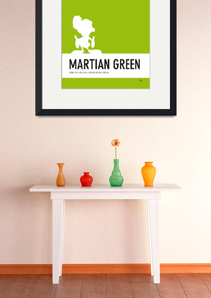 """No15 My Minimal Color Code poster Marvin&quot  by Chungkong"