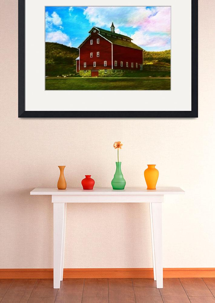 """""""West Monitor Barn Vermont&quot  (2015) by DBenoit"""