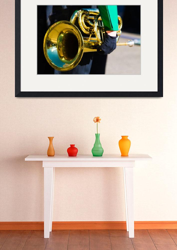 """""""Marching Band Horn&quot  (2011) by lightningman"""