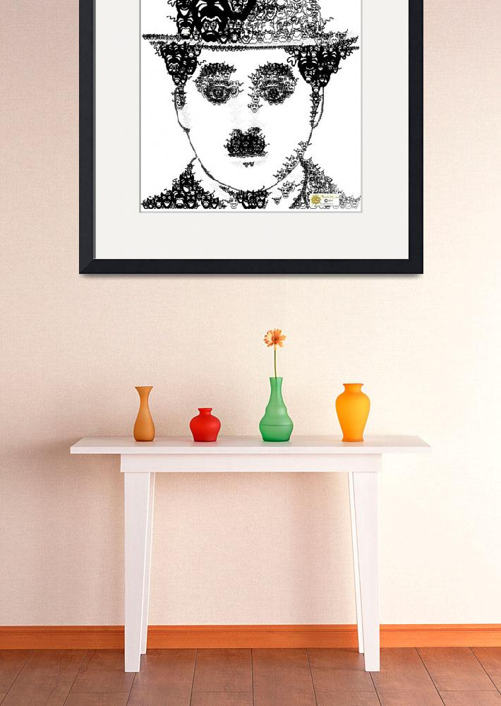 """""""Charlie Chaplin&quot  (2003) by tomartcom"""