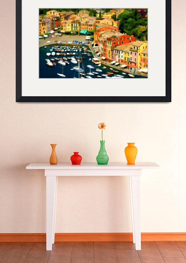 """""""Portofino Perspective&quot  by marywhitmer"""