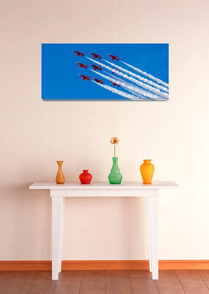 """""""Red Arrows 8""""  (2014) by ThreeEdged"""