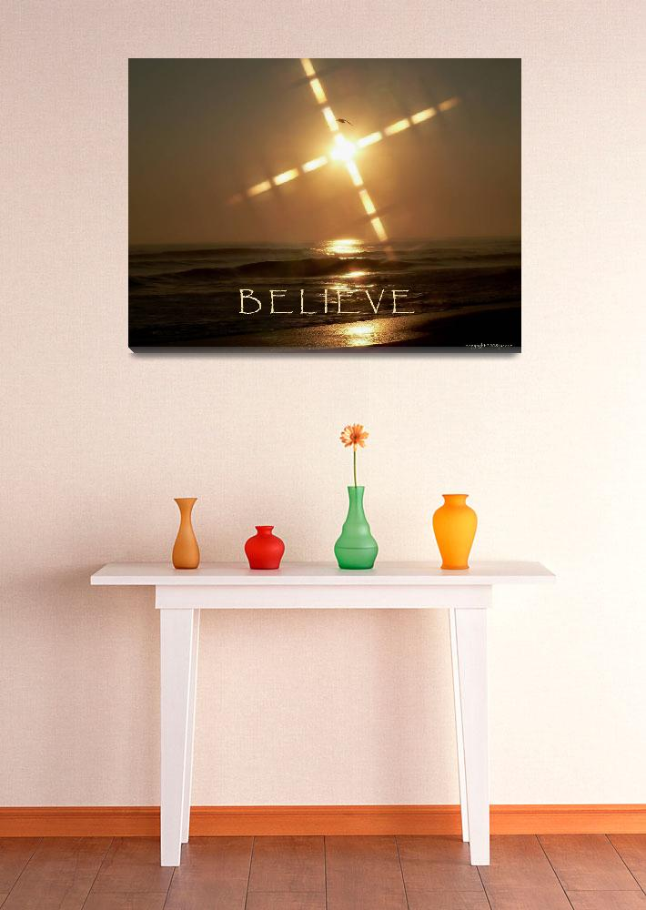 """""""Believe&quot  (2008) by rayjacque"""