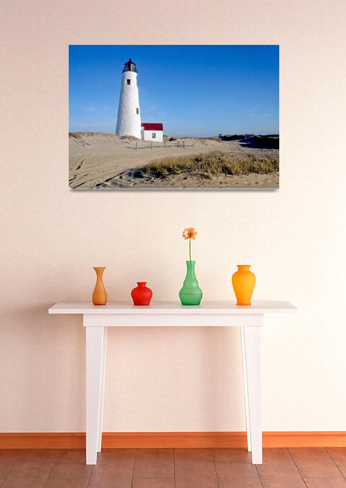 """Great Point Lighthouse (Nantucket, MA)""  (2014) by ChrisSeufert"