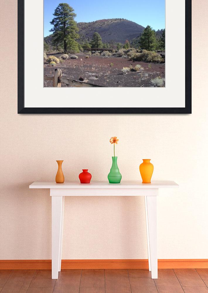 """""""the bridge at Sunset Crater&quot  (2012) by in2ition"""