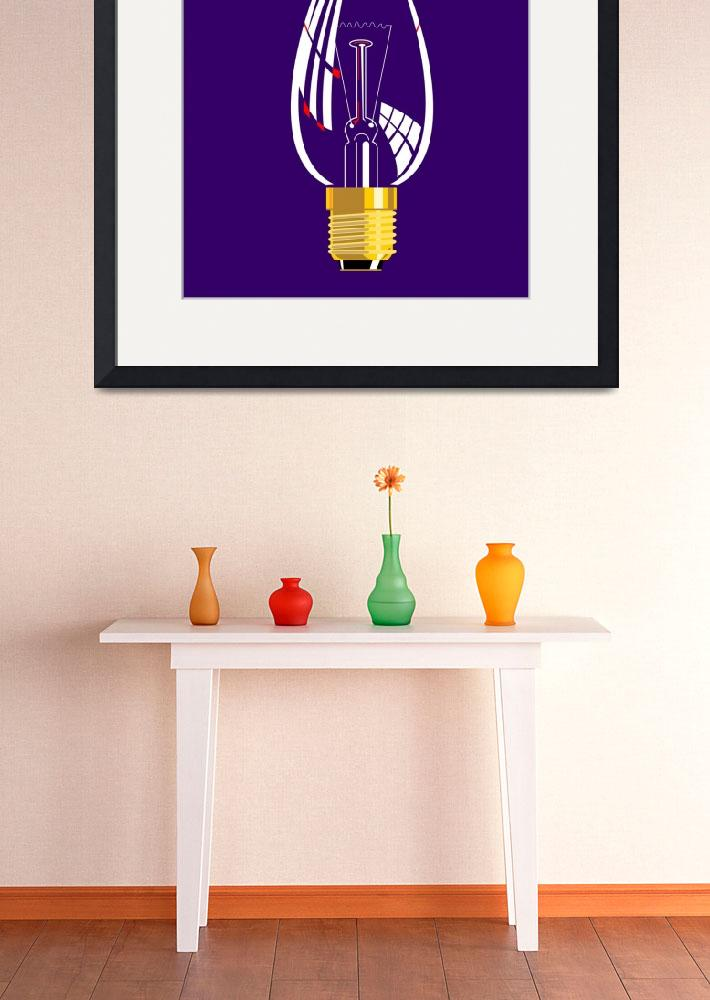 """Lightbulb Candle Shaped&quot  (2013) by patrimonio"