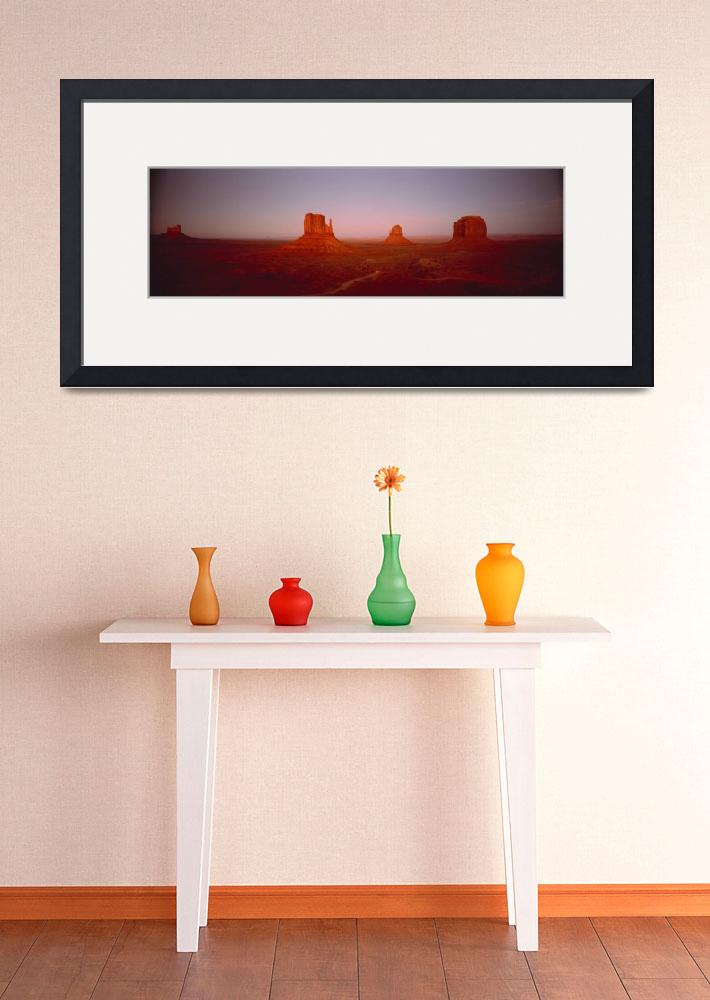 """""""Monument Valley AZ&quot  by Panoramic_Images"""