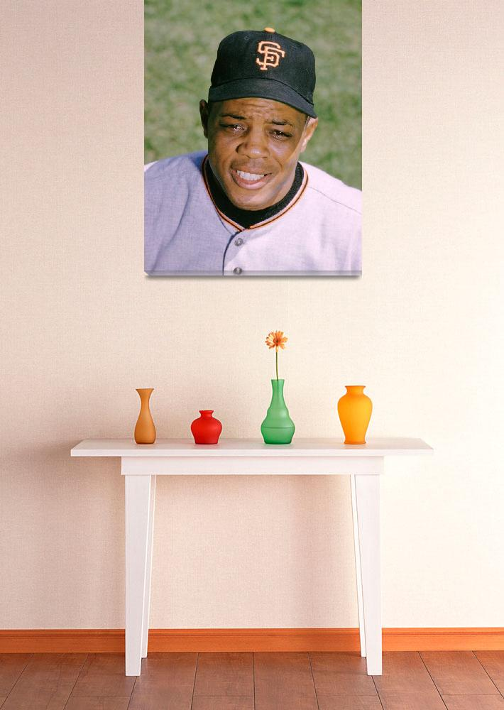 """""""The Great Willie Mays&quot  by RetroImagesArchive"""