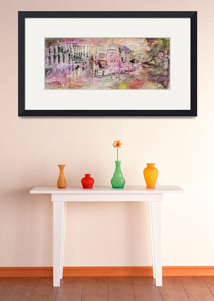 """Abstract Art Spring In Venice by Ginette&quot  (2015) by GinetteCallaway"