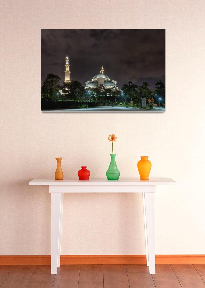 """Federal Territory Mosque""  (2013) by frahman76"