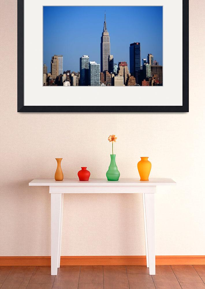 """""""New York City Skyline 8""""  (2012) by Ffooter"""